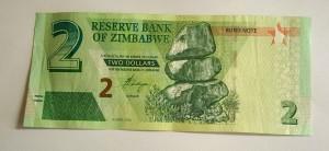 Zimbabwe $2 Bond Note